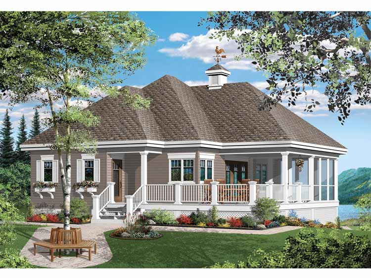 Houses bungalow style