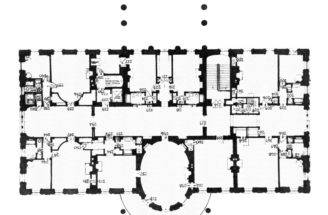 Second Floor Plan White House Truman Library Report