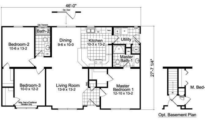 25 Best 3 Bedroom 2 Bath House Floor Plans House Plans