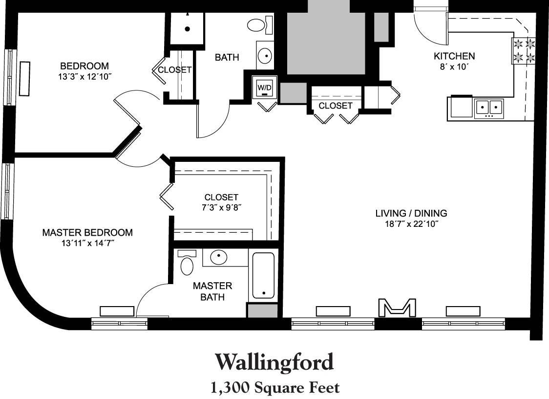 senior apartment floor plans whitney center house plans