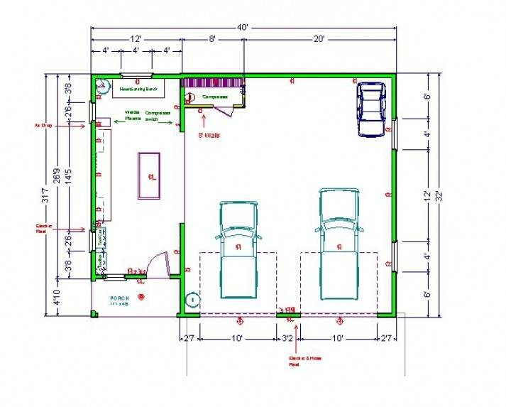 good house shop plans #6: Shop House Plans Design Garage Building Floor House Plans 70390