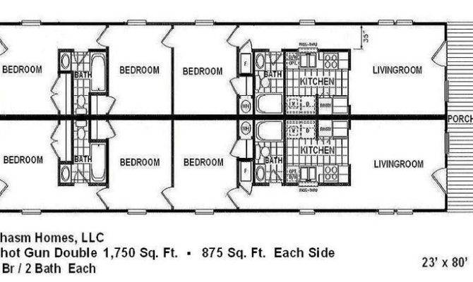 Double Shotgun House Floor Plans Floor