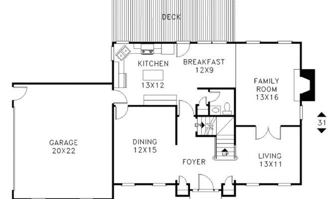 Simple Double Storey House Plans | House Plans