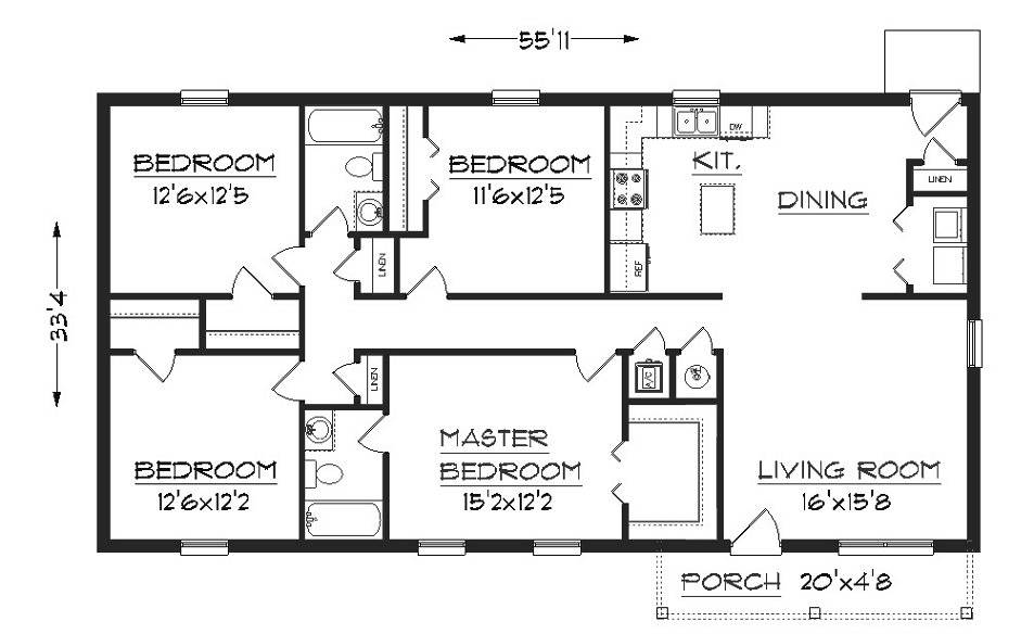 Simple Elegant Floor Plan Hwbdo Cottage House 77377 House Plans Free Australia Designer 17 On House Plans