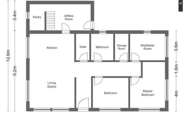 Simple Floor Plans For Houses Inspiration House Plans 69049