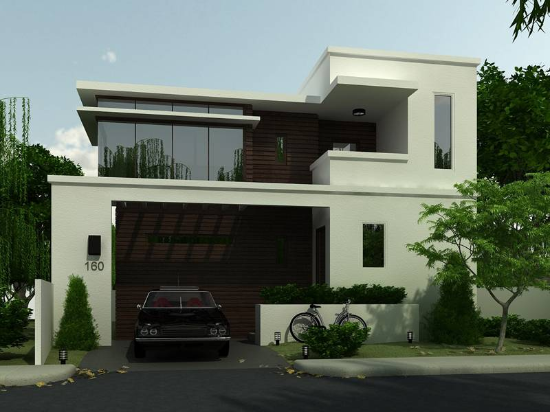 Simple Modern House Home Exterior Design Ideas - House Plans | #30069