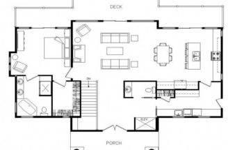 Simple Open House Floor Plans Ranch