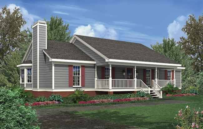 Simple Ranch House Plans Don Gardner Designs House Plans