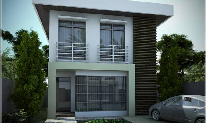 Stunning 22 Images Simple Two Storey House Design House Plans