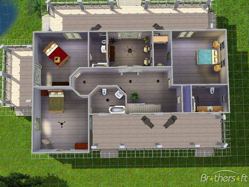 Sims House Ideas Designs Xbox Modern Home DesignHouse Plans  Sims 3 modern  home ideas. Sims 3 Beach House Plans  universalcouncil info