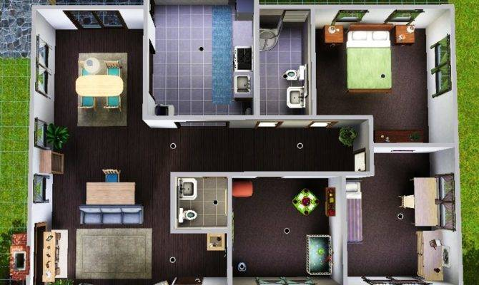 House layout for sims