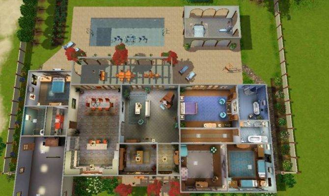 Surprising Sims 3 House Design Plans Largest Home Design Picture Inspirations Pitcheantrous