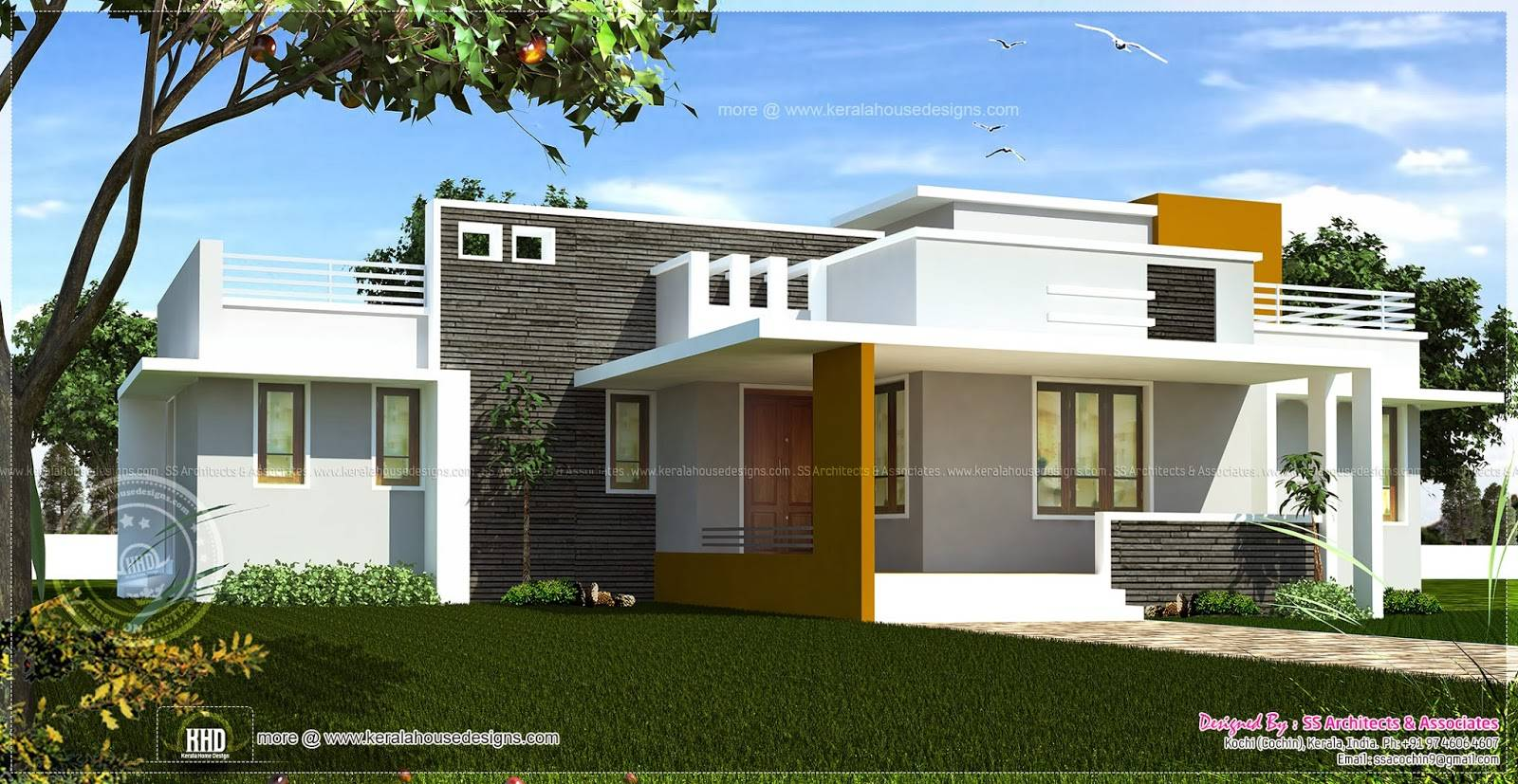 Contemporary single story house modern house Contemporary home design