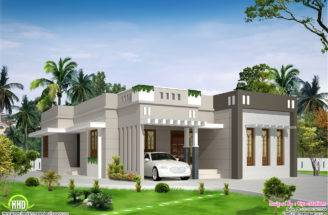 Single Storey Budget House Kerala Home Design Floor Plans