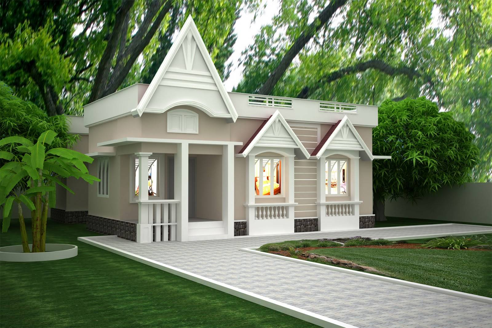 Single Story Building Exterior Design Home 409919 Single Story Building Exterior Design Home House Plans 10690 On