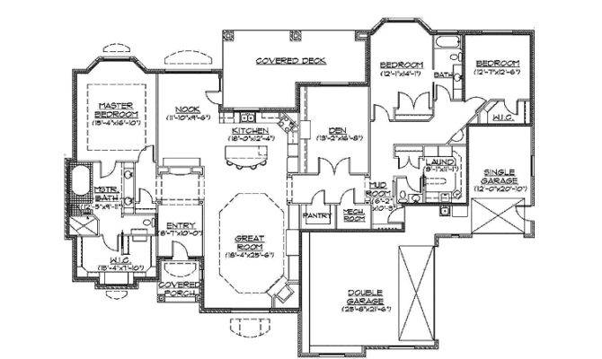 Awesome Slab On Grade Home Plans 14 Pictures House Plans