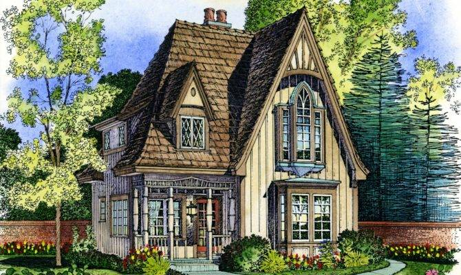 Small House Plans English Cottage