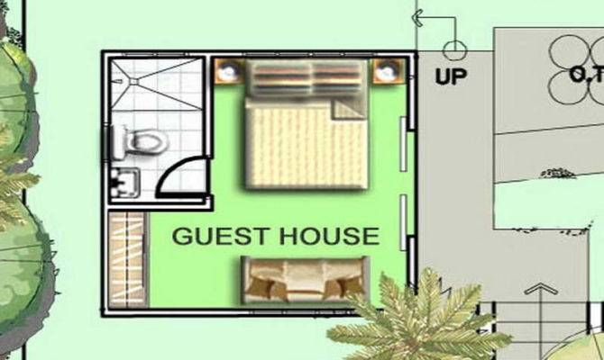 House Plans With Guest House. Small Cottage Style Guest House ...