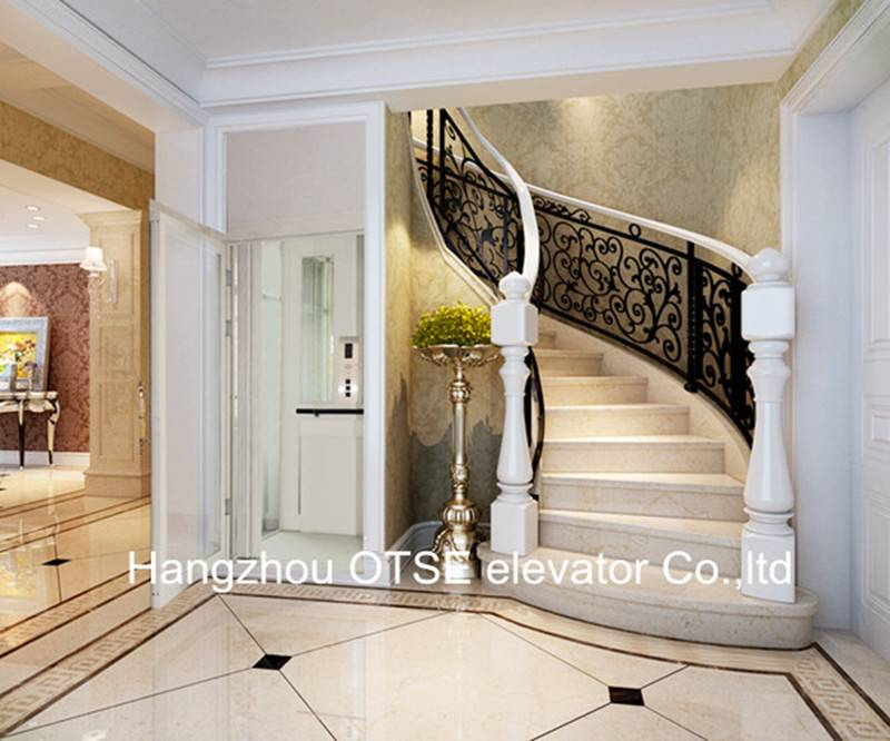 Small home lift elevators homes good residential elevator Two story elevator cost