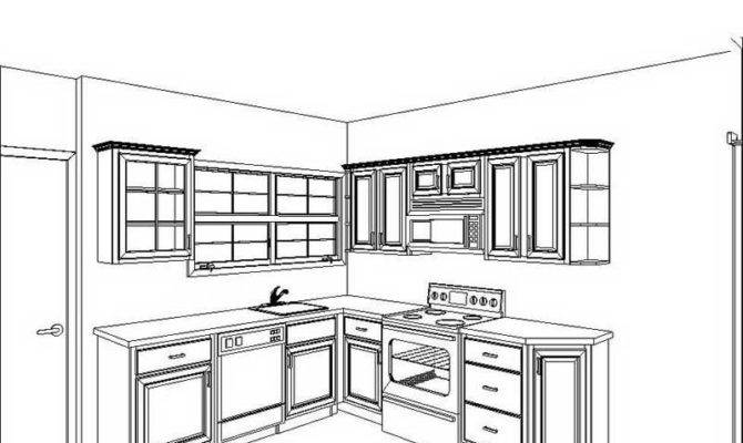 Kitchen Drawing For Kids unique simple kitchen floor plans design family room s