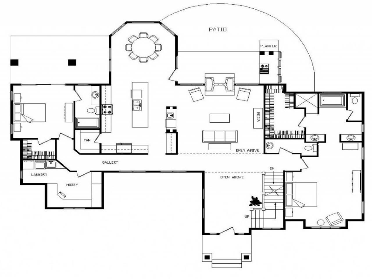 Log Cabin Homes Floor Plans