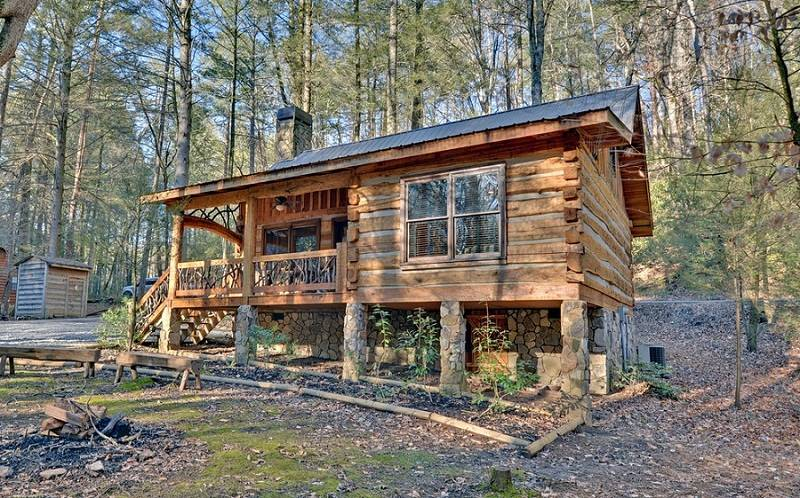 Small rustic lake house plans