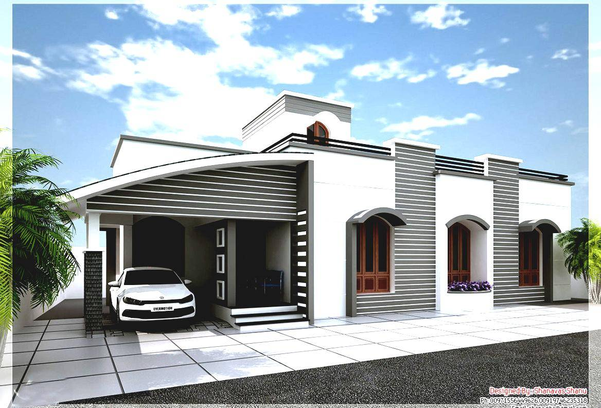 Small Single Story House Modern Home Design - House Plans #28122 - ^