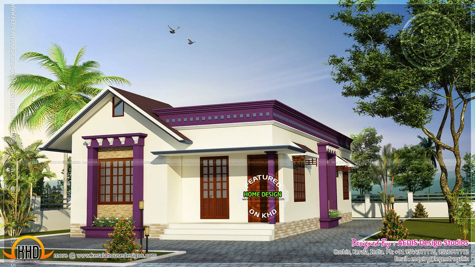 Single Storey Flat Home Design Simple House Designs India.