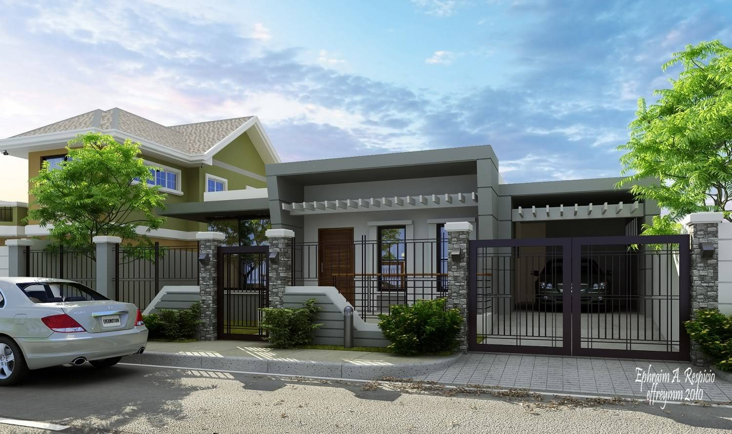 Modern Bungalow Design Home Design