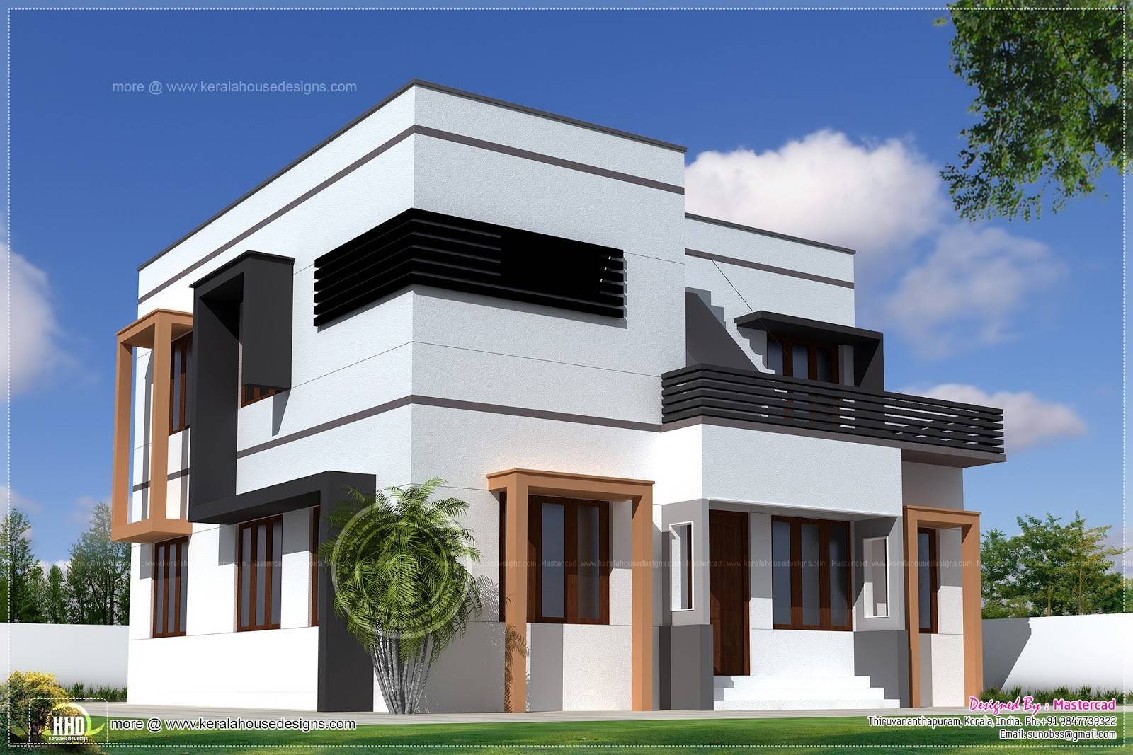 Modern House Exterior Design In India Part 92