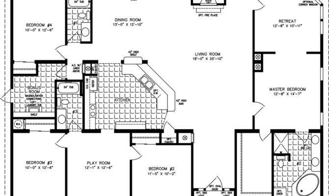 Square House Plans Pinterest Four Homes Home Floor House Plans 53543