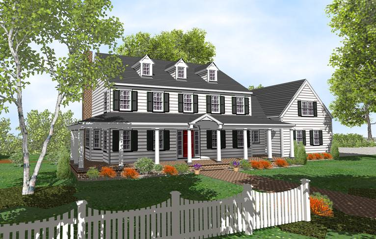 Story Colonial House Plans Sale Original Home House Plans 75735