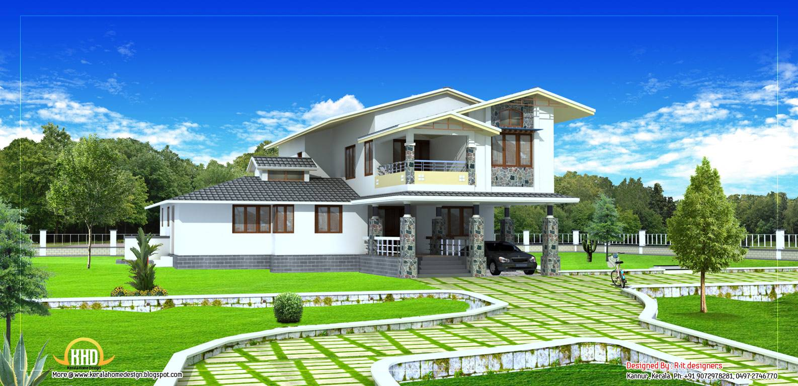 double story house plan kerala home design floor plans story house plan home  appliance. 100     Bedroom House Plans Story Modern Storey Roofdeck Youtube