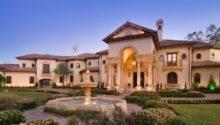 Stunning Mediterranean Mansion Houston Built Sims Luxury