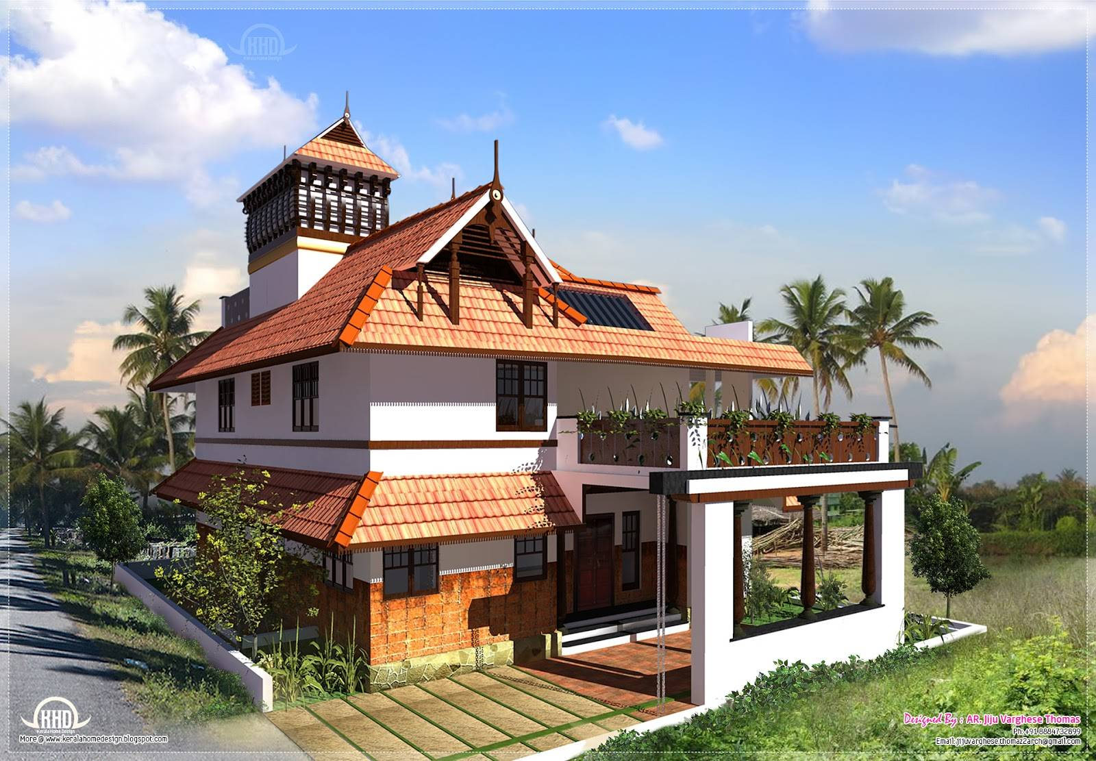 Kerala Traditional House Plan Awesome Design Roomraleigh kitchen cabinets Nice