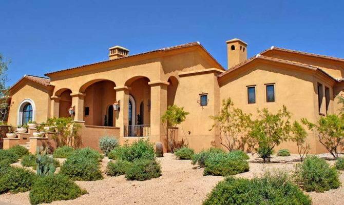 Desert style homes