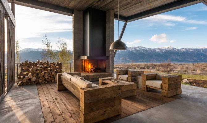 Modern mountain homes plans Home plan