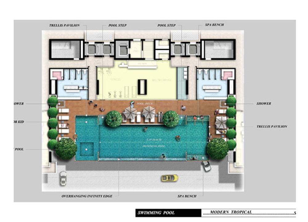 Hotel indoor pool plan  28+ [ House Plans With Swimming Pools ] | Modern House With ...