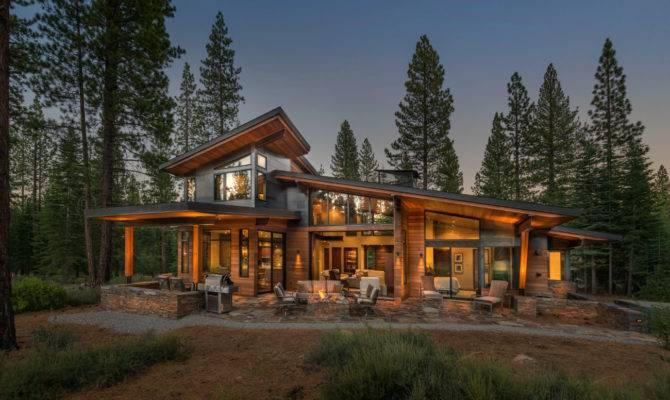 Modern house plans mountain