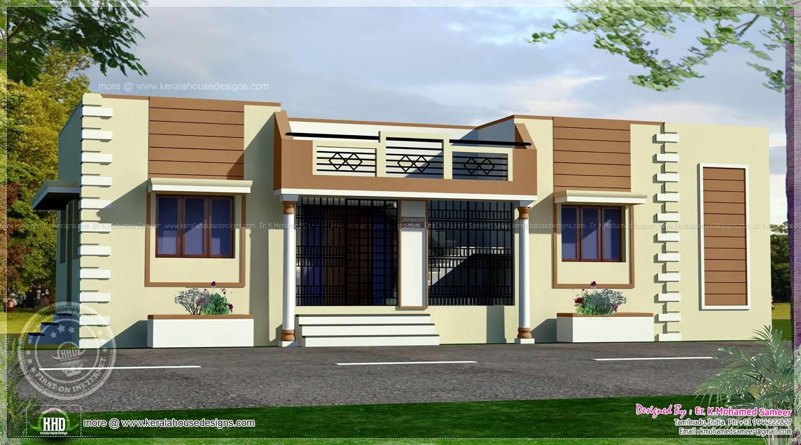 ... kerala design plans house on single floor house plans in tamilnadu