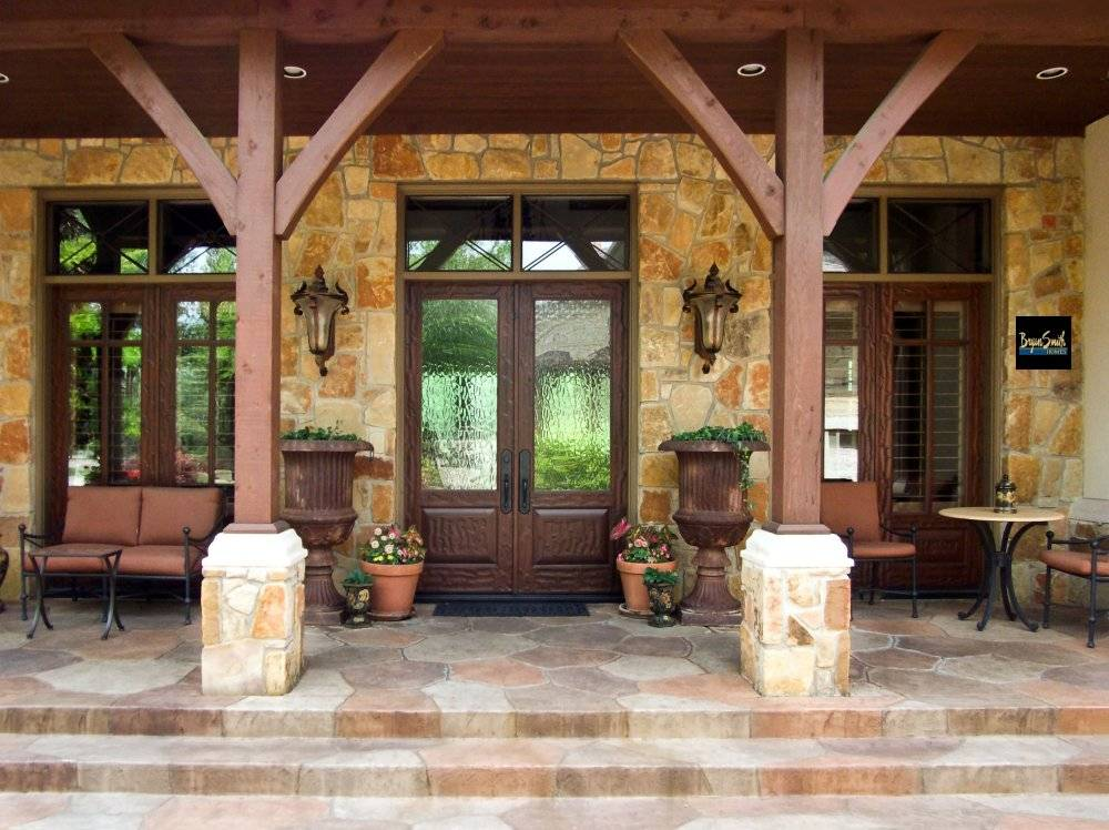 Texas Hill Country Porch Style Homes Pinterest House