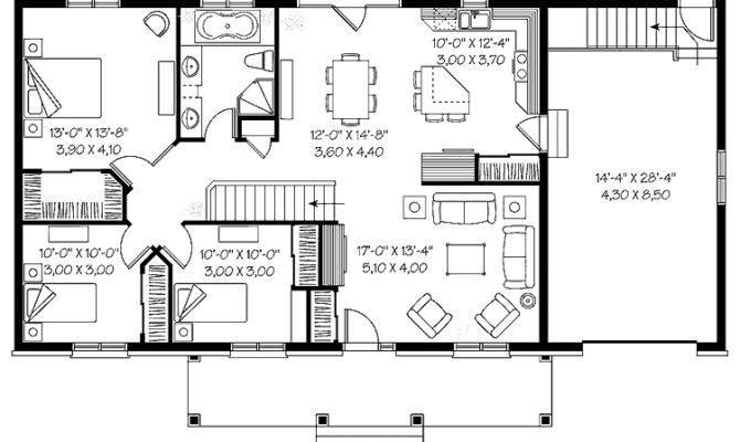 top 24 photos ideas for bungalow floor plans with basement