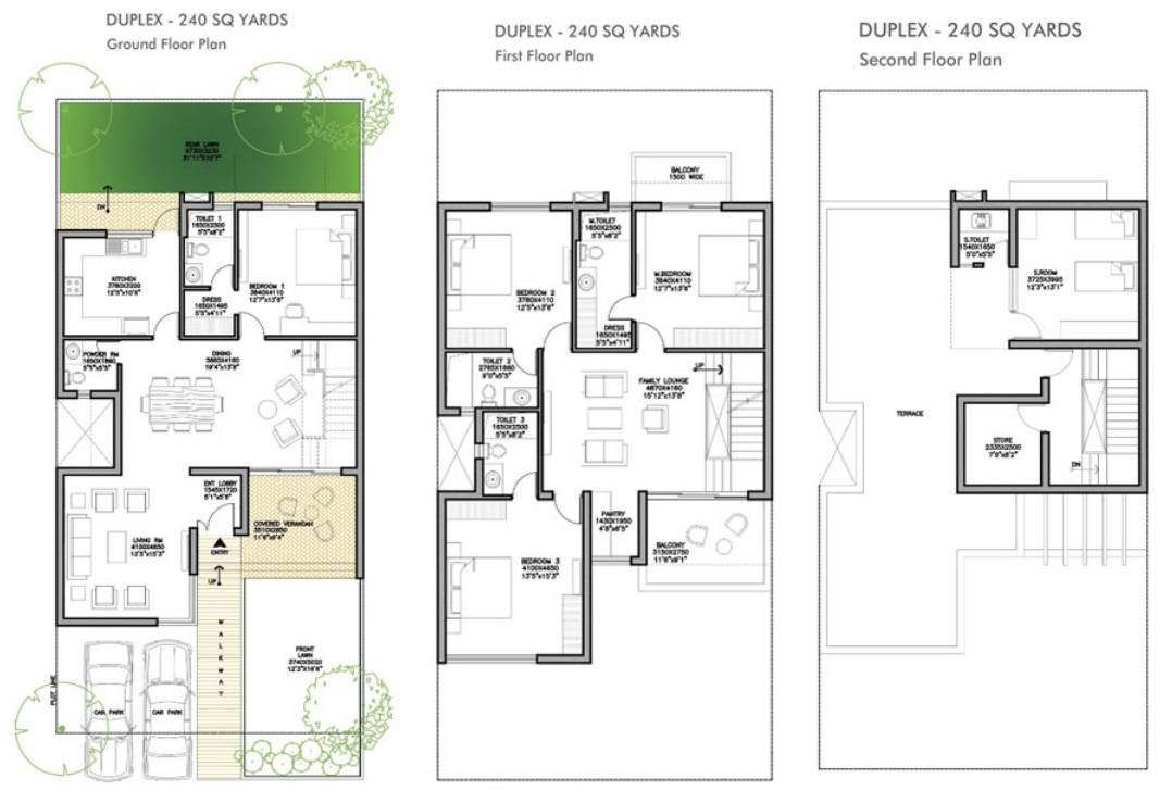 Tiny Duplex Villa Plan Joy Studio Design Best House
