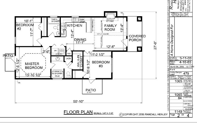 One Floor House Plans One Story House Plans With Open