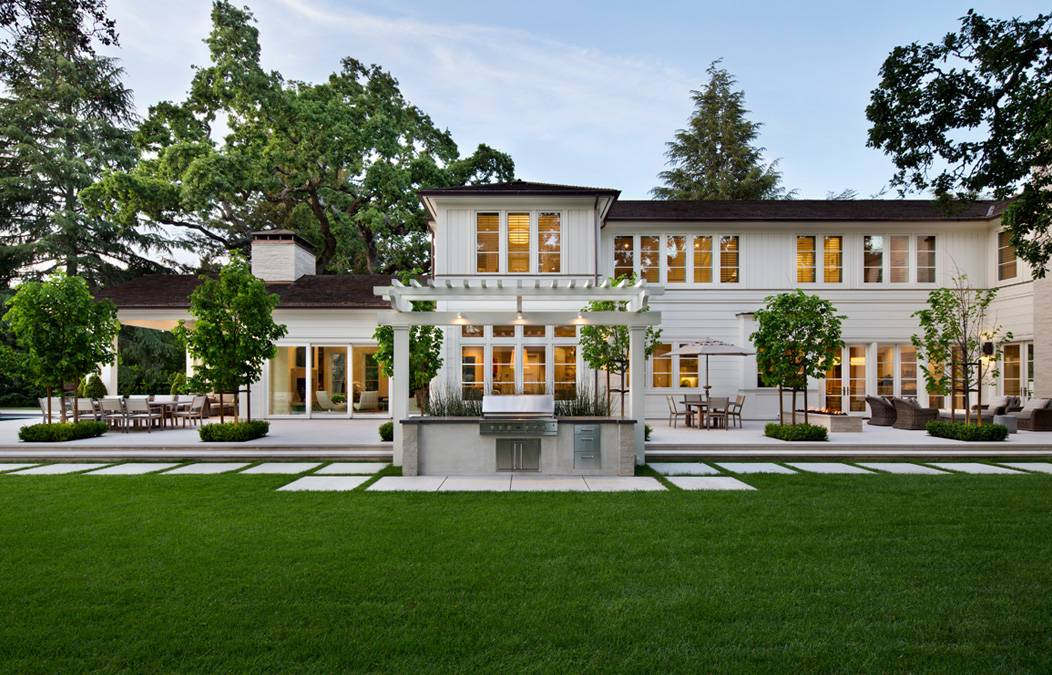 Modern transitional house plans