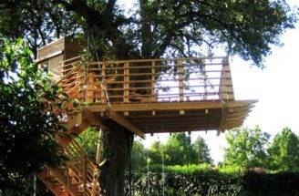 Tree House Designs Different Level Age Terrace