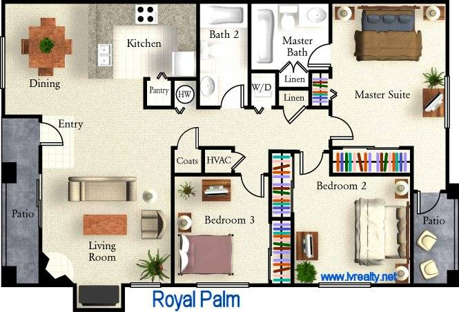 Master Suite Floor Plans