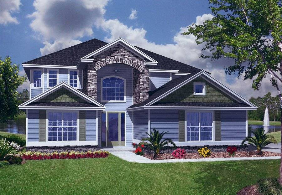 House Plans With Two Master Suites Two Master Suites Ranch House ...