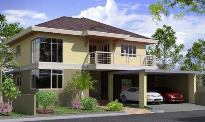 Two story house plans philippines