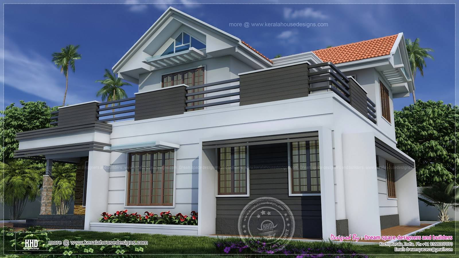 Two story house plans balconies sri lanka house plans 43396